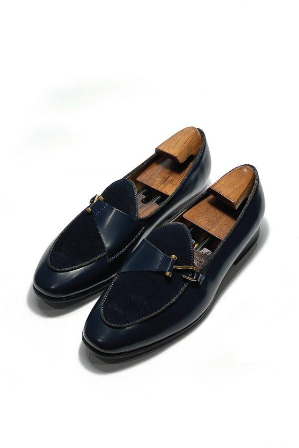giay-da-nam-loafer-xanh
